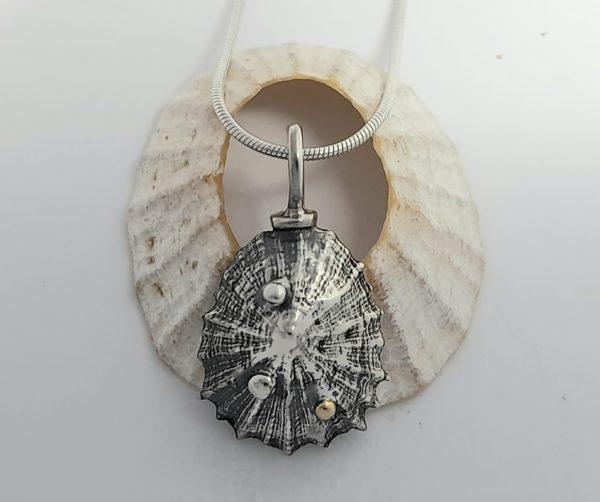 Silver Limpet Pendant