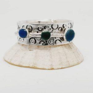Anemone Spinner Ring